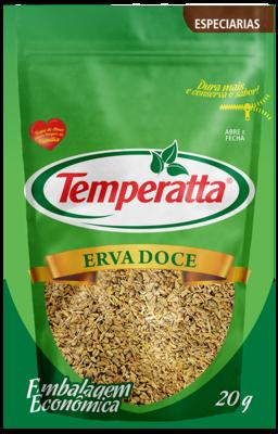 Erva doce Temperatta 20g Standpouch