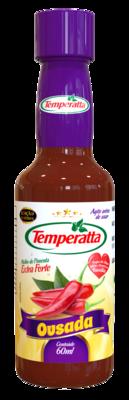 Molho de pimenta extra forte Temperatta Ousada 60ml