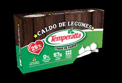 Caldo de Legumes Temperatta -25% sódio