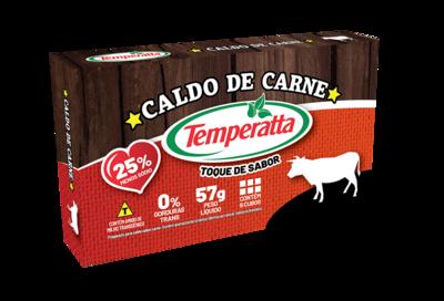 Caldo de Carne Temperatta -25% sódio