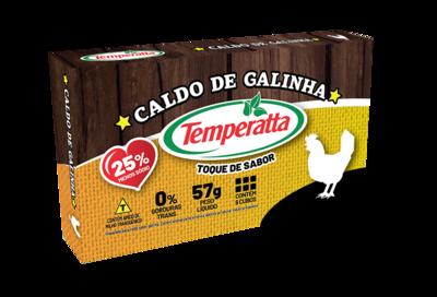 Caldo de Galinha Temperatta -25% sódio