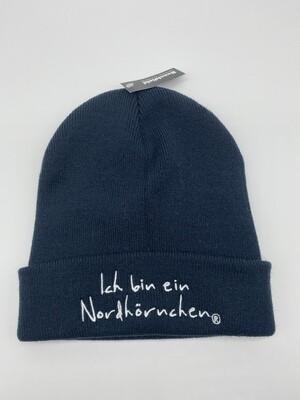 Blaue Mütze
