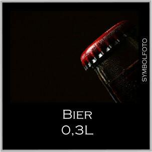 Bier 0,3L
