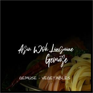 Asiawok Linguine Gemüse