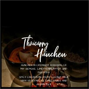 Thai Curry Hünchen