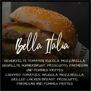Burger Bella Italia