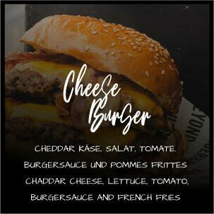 Cheeseburger 100% Beef