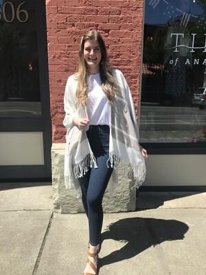 MerSea Pocket Wrap-Tan Stripe