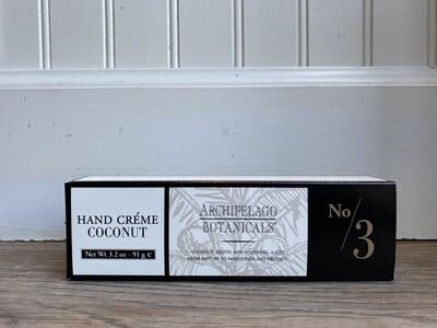 Archipelago Coconut Hand Cream