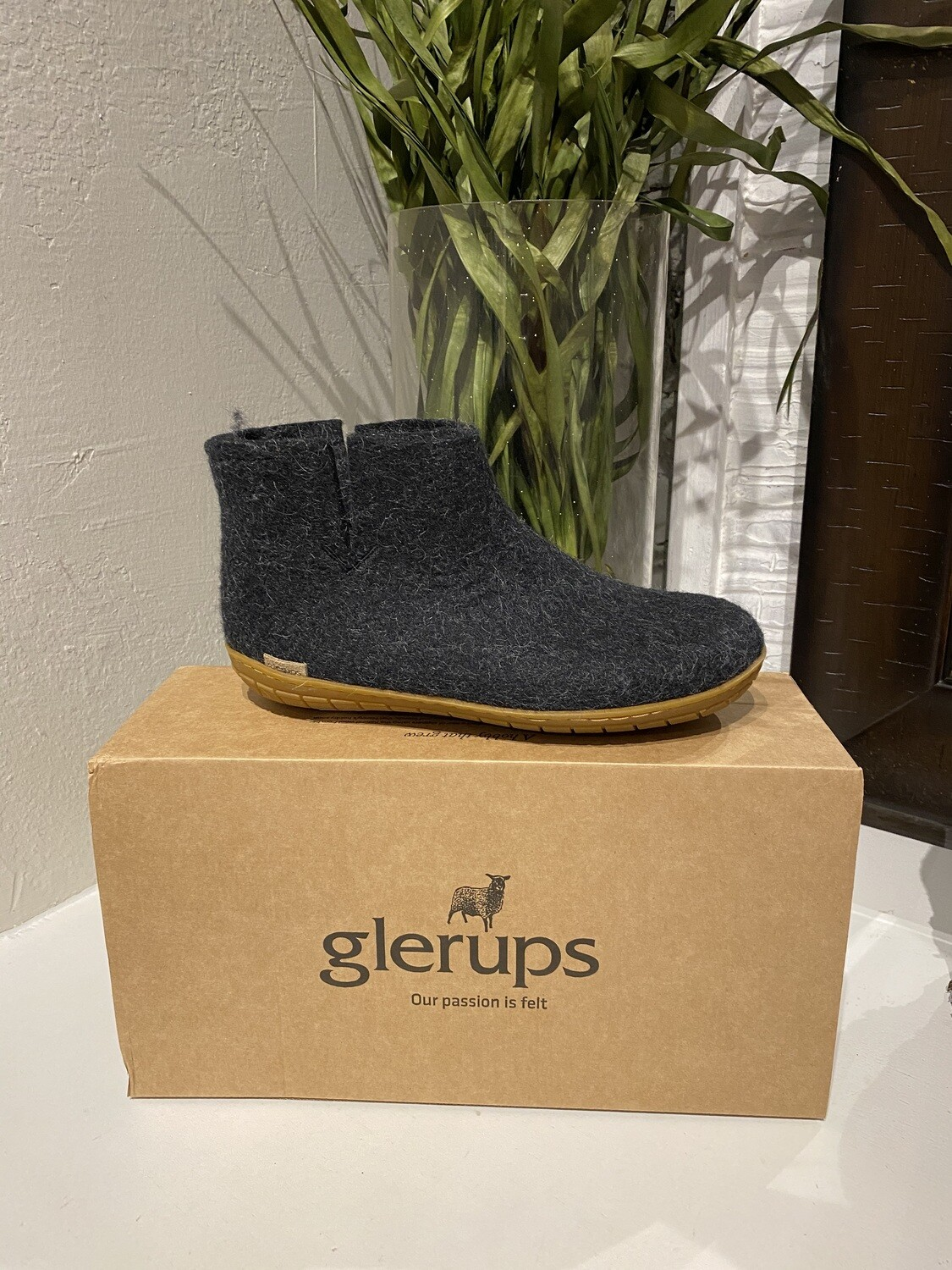 Glerups Low Boot Charc 39