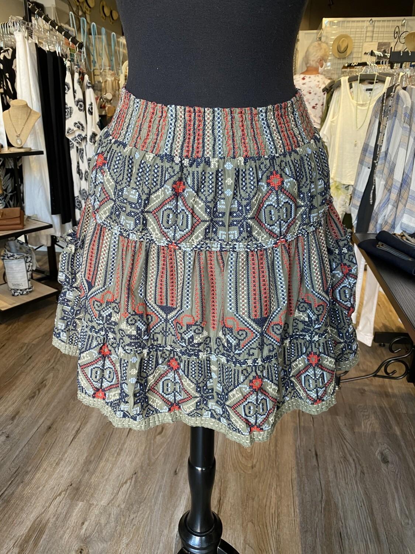 Dylan Capri Skirt Large