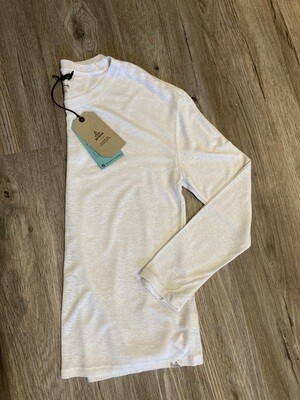 PrAna Cozy Up Wh L/S Small