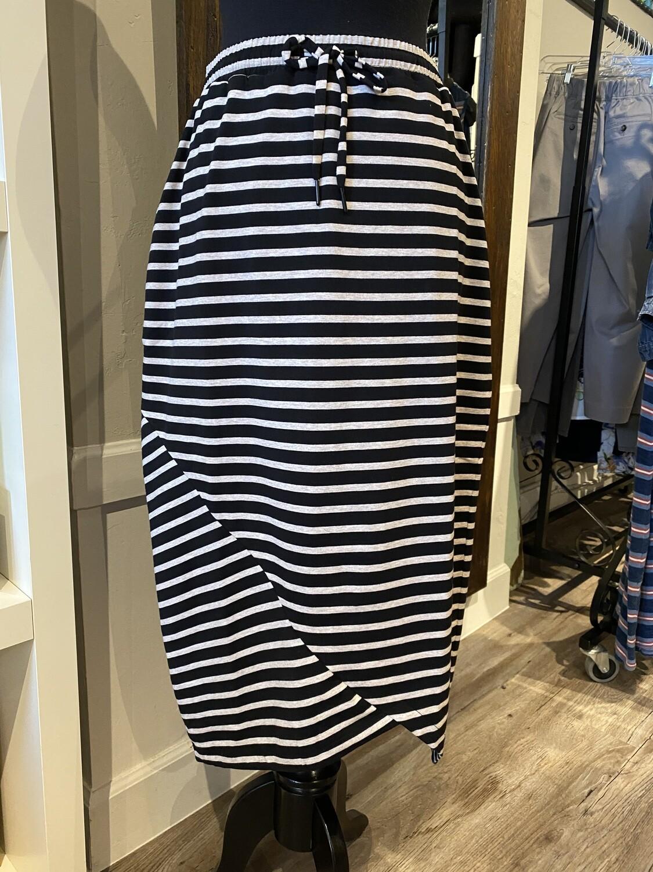 Foil Skirt Black L