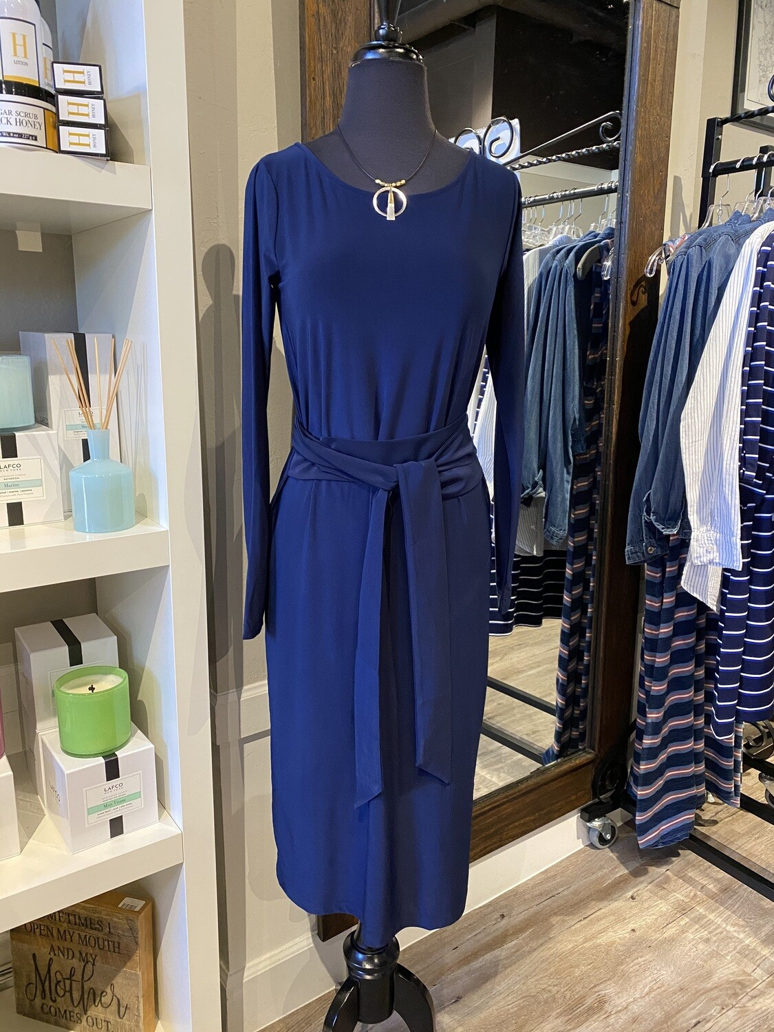 Ilse Dress Emma Indigo S