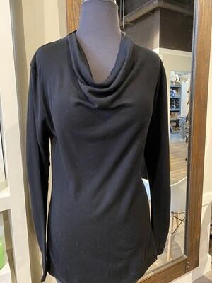 Foil Merino Cowl Black XL