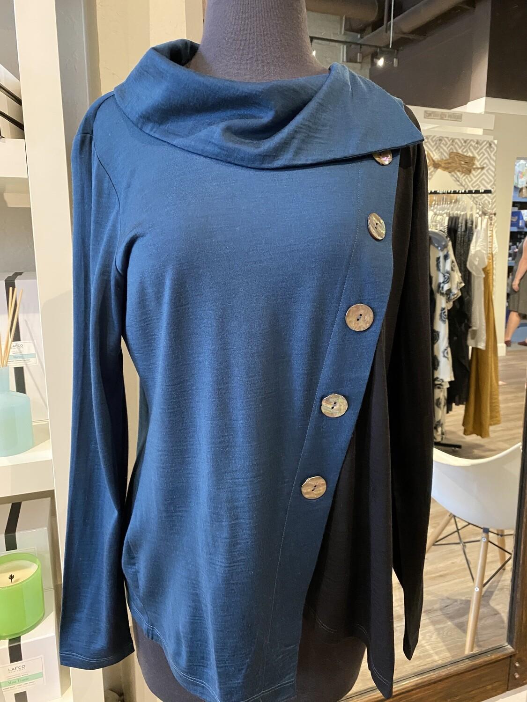 Foil Merino Knit Storm XL
