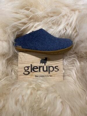 Glerups Open Heel Slipper, Denim