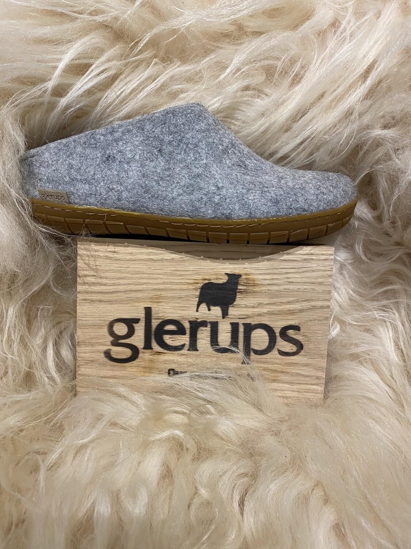 Glerups Open Heel Slipper, grey
