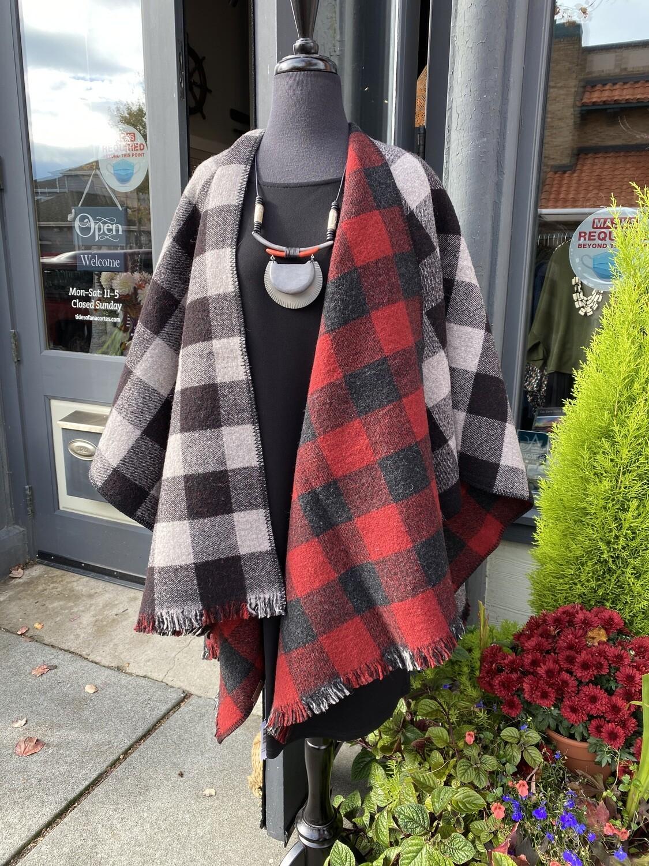 Pendleton Reverse Wool Wrap