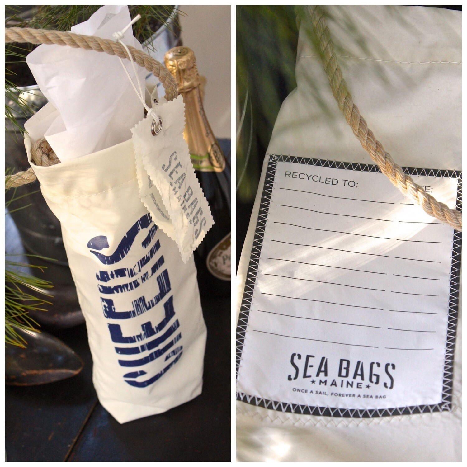 Sea Bags Wine Cheers