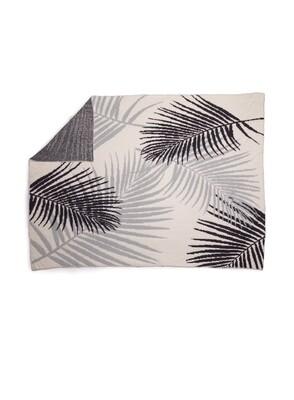 Barefoot Palm Leaf Blkt Ocean