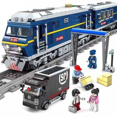 Kazi Diesel Freight Train