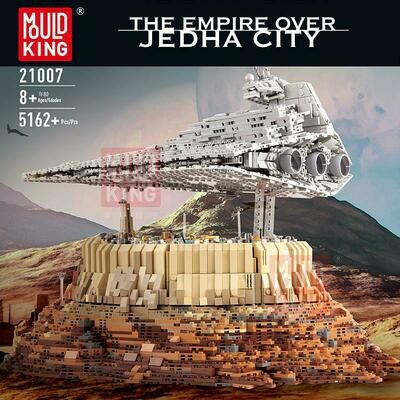 Mould King The Empire Over Jedha City