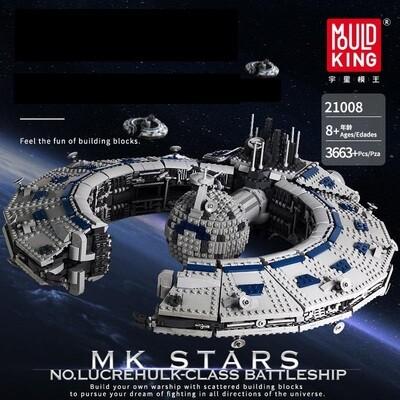 Mould King Lucrehulk-Class Battleship