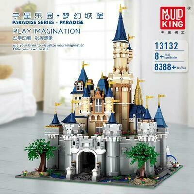 Mould King Disney Castle