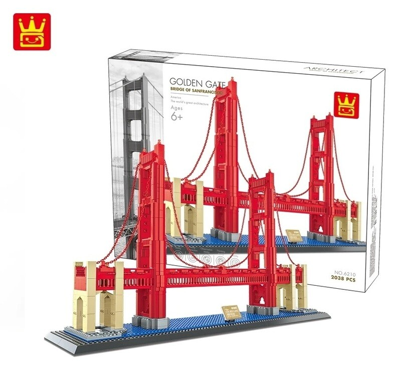 Wange Golden Gate Bridge 6210