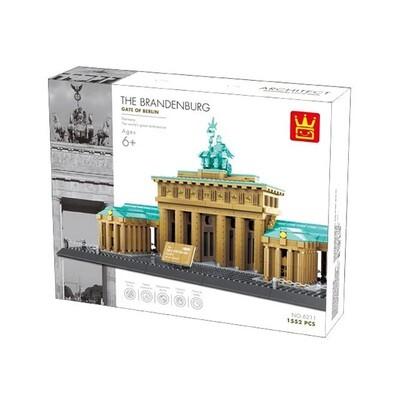 Wange Brandenburg Gate Berlin 6211