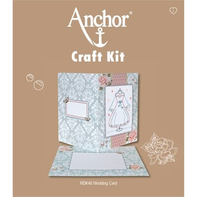 Anchor Craft Kit - Wedding Card