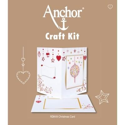 Anchor Craft Kit - Christmas Card