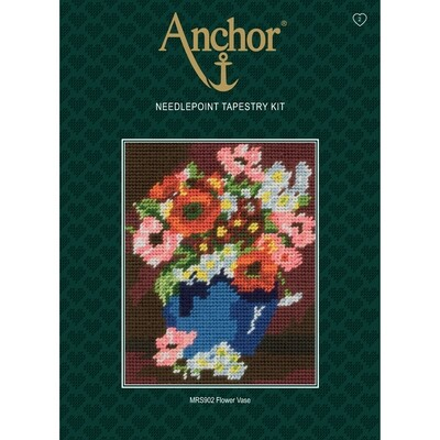 Anchor Starter Tapestry Kit - Flower Vase
