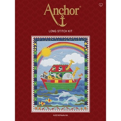Anchor Starter Long Stitch Kit - Noah's Ark