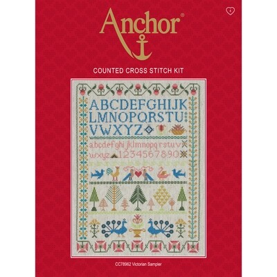 Anchor Essentials Cross Stitch Kit - Victorian Sampler
