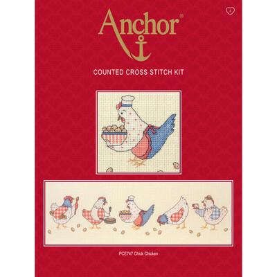 Anchor Essentials Cross Stitch Kit - Chick Chicken