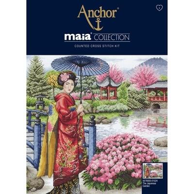 Maia Cross Stitch Kit - The Japanese Garden