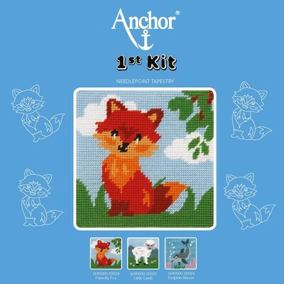Anchor 1st Kit - Friendly Fox Tapestry