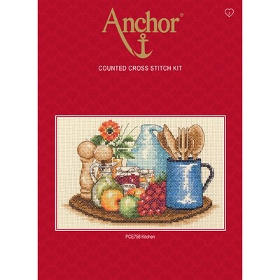 Anchor Essentials Cross Stitch Kit - Kitchen