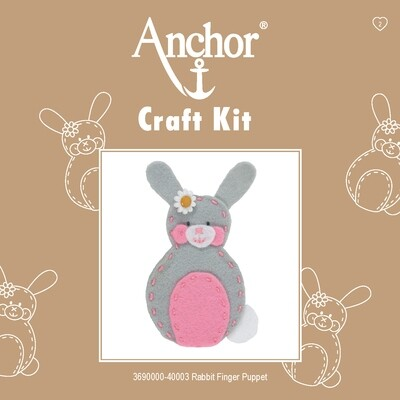 Anchor 1st Kit - Rabbit Finger Puppet
