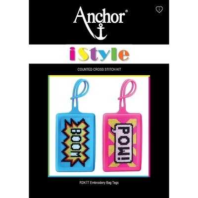 Anchor iStyle - Cross Stitch Bag Tags