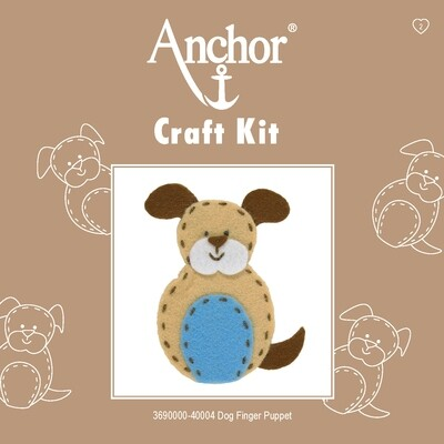 Anchor 1st Kit - Dog Finger Puppet