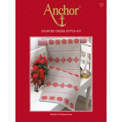 Anchor Essentials Cross Stitch Kit - Star Runner