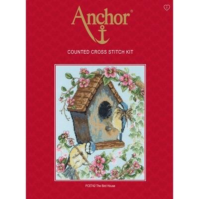 Anchor Essentials Cross Stitch Kit - The Bird House