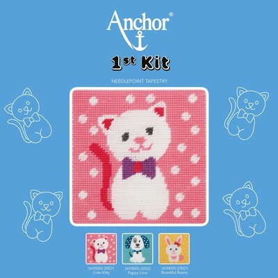 Anchor 1st Kit - Cute Kitty Tapestry