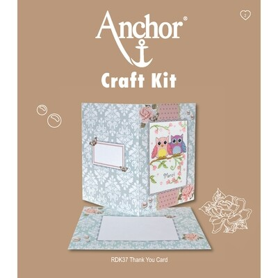 Anchor Craft Kit - Thank You Card