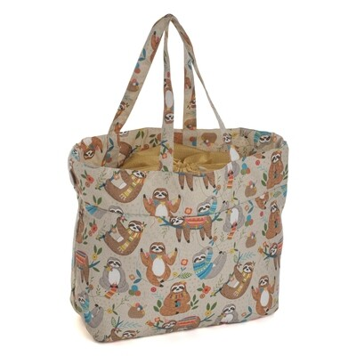 Craft Bag with Drawstring - Sloth