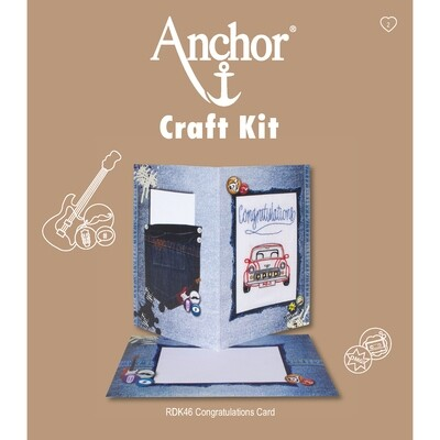 Anchor Craft Kit - Congratulations Card