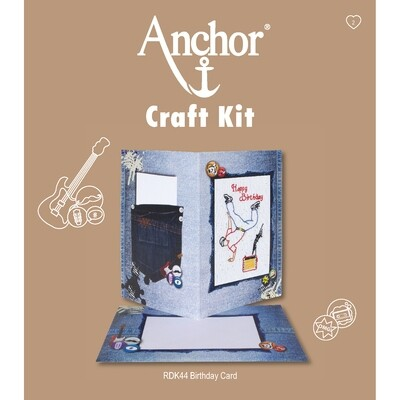 Anchor Craft Kit - Birthday Card